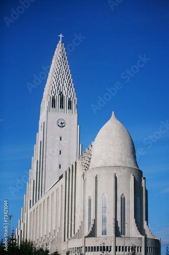 Fotografija  Hallgrimskirkja Church in Reykjavik, Iceland