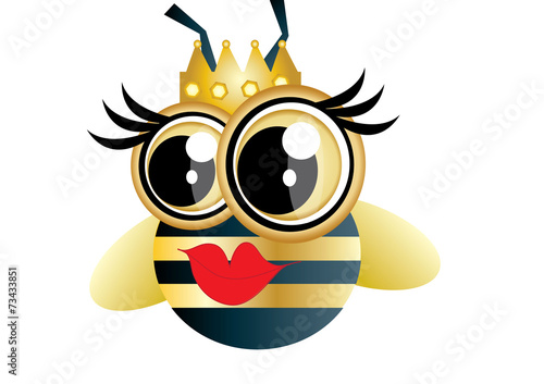 Fototapeta królowa pszczół obraz