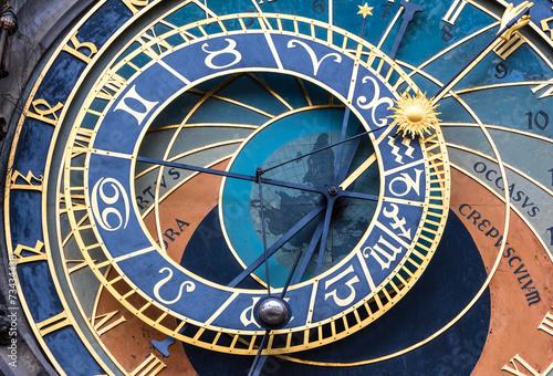 Staande foto Praag Altstädter Astronomische Uhr in Prag