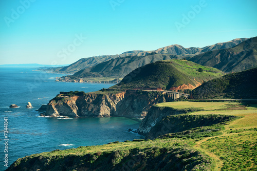 Photo Stands Turquoise Big Sur
