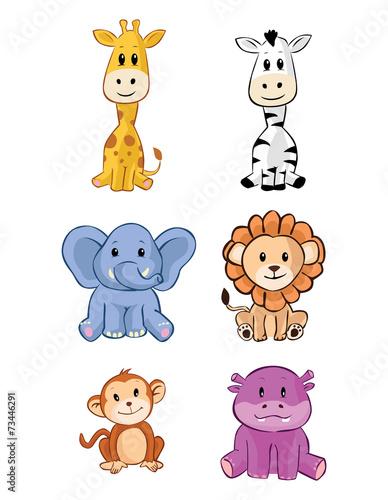 zestaw-cute-animal-safari-baby