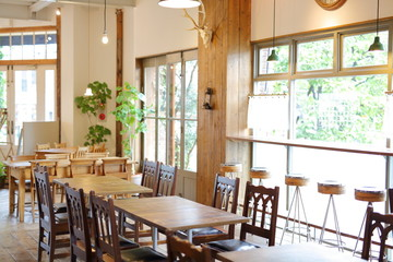 Naklejka カフェ・レストラン