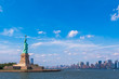 Lady Liberty, Statue of Liberty and Manhattan