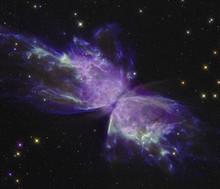 Butterfly Nebula With A Butter...
