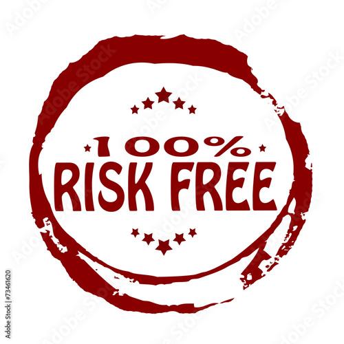Risk free плакат