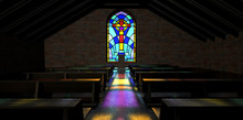 Stained Glass Window Church