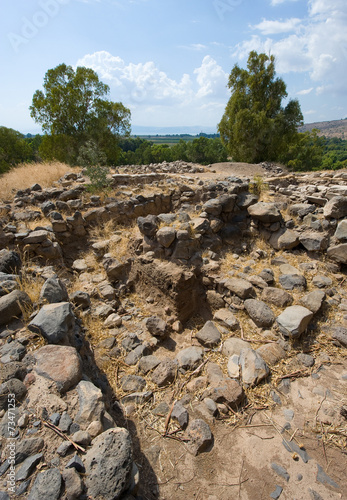 Photo Ruines in Bethsaida