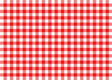 Red Traditional Gingham Backgr...
