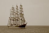 beautiful old sailing ship - 73475832