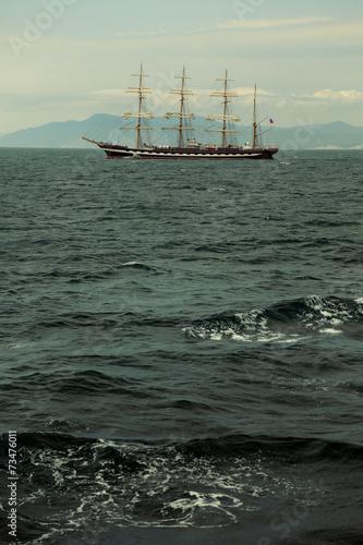 beautiful old sailing ship © komi$ar