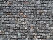 Mauer aus Vulkangestein