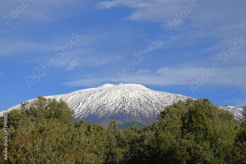 Etna National Park, Sicily Canvas-taulu