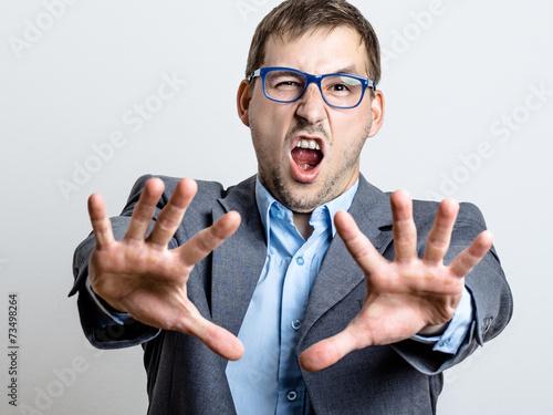 Obraz na plátně  Business Man