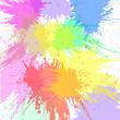 Abstract watercolor splash. Watercolor Spray.