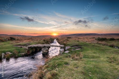 Fototapeta Dartmoor Bridge