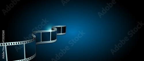 pellicola, cinema, film, fotogrammi, rullino Fototapeta