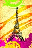 Ilustracja projekt paryskiej sztuki - 73536891