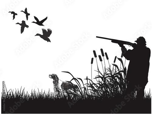 Photo  Duck hunting