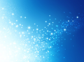 starlight blue background