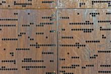 Morse Code Wall