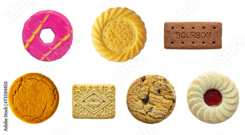 Leinwand Poster Biscuit Selection
