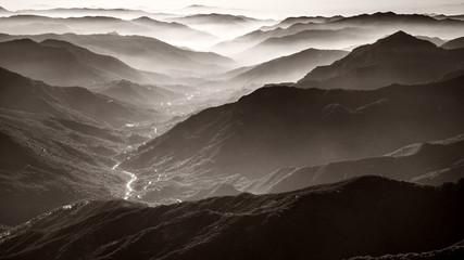 Panel Szklany PodświetlaneAmazing Sequoia National Park