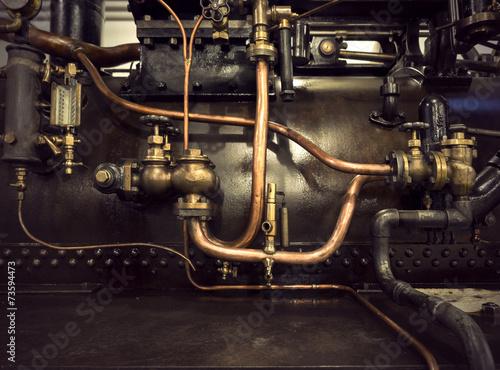 Foto op Plexiglas Retro vintage machinery