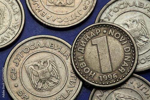 Fotografia  Coins of Yugoslavia