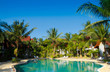 Fancy Hotel Swimming Space