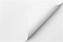 Blank Folded Sheet Of Paper Wi...