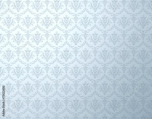 floral pattern silver wallpaper