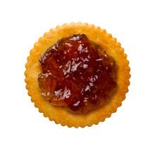 Fig Spread On A Round Cracker