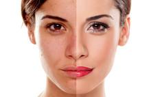 Comparison Portrait Of A Woman...