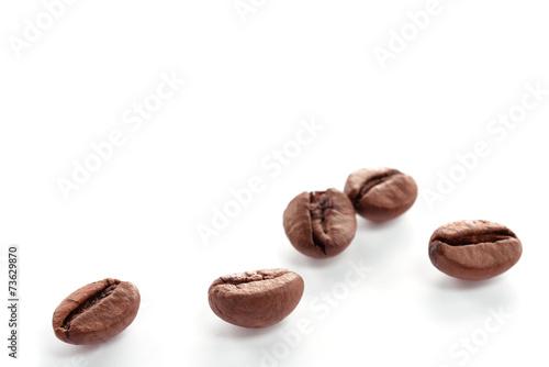 Foto op Plexiglas koffiebar chicchi di caffè