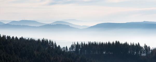 Panel SzklanySchwarzwaldhöhen: Blick vom Schliffkopf