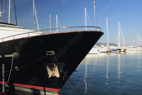 Foto op Plexiglas Water Motor sporten Super Yacht Bow