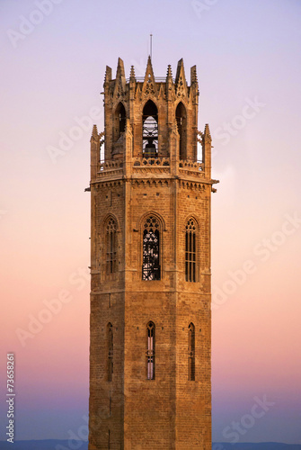Seu Vella Tower. Lleida / Lérida, Catalonia, Spain