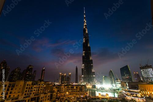 Fotografie, Obraz  Burj Khalifa in Dubai