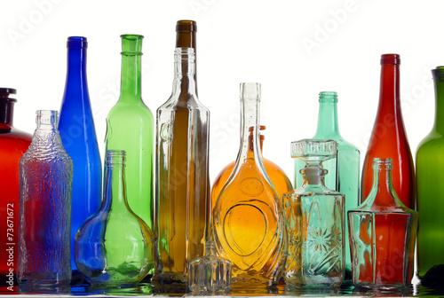 Fototapeta colorful bottles obraz na płótnie