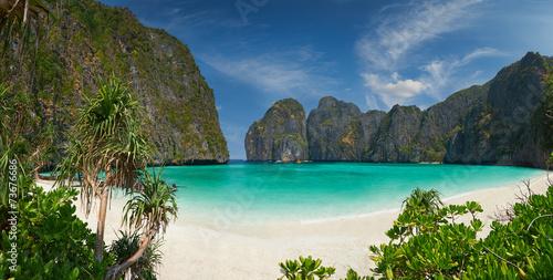 Photo  Phi-Phi island, Krabi Province, Thailand.