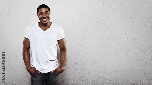 Photographie  Portrait of a smiling young man