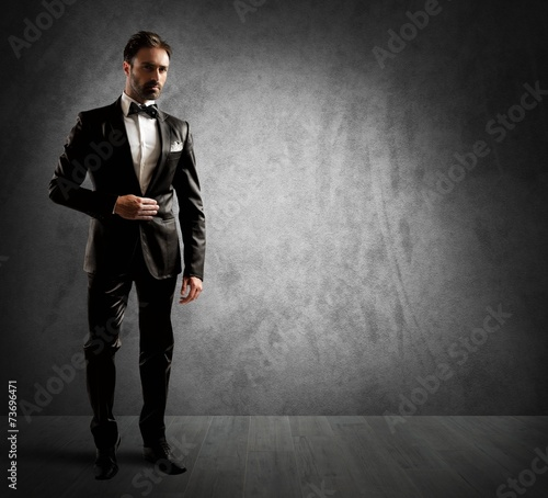 фотография  Elegant businessman