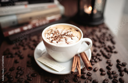 Fototapeta Filiżanka kawy obraz