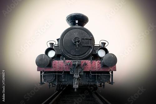 Plakaty pociągi   zabytkowa-lokomotywa