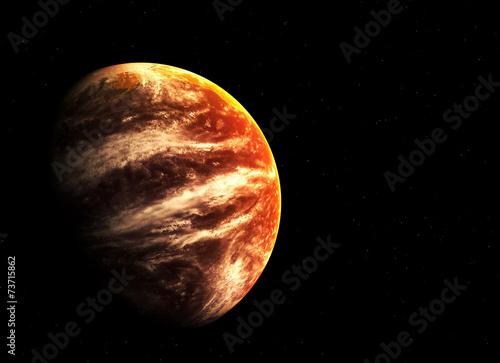 czerwona-planeta-i-gwiazdy