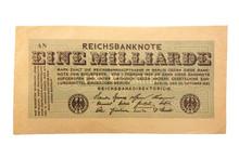 Inflationsgeld Reichsbanknote ...