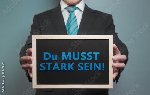 Photo  Du MUSST STARK SEIN!