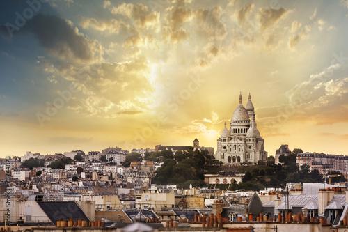 Poster Paris La Basilique du Sacré Cœur de Montmartre