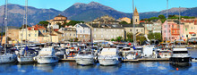 Pictorial Old Town Port Saint Florent , Corsica