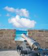 ancient cannon in Alghero